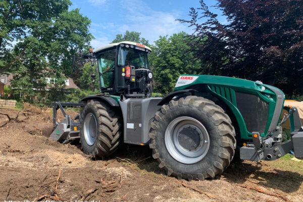 Forstmulchen Forstfräsen Rodungsarbeiten Baufeldräumung Baufeldrodung Baufeldvorbereitung